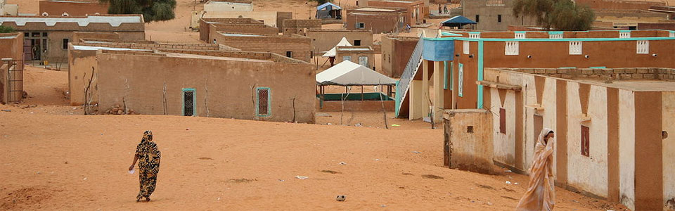 Village In Mauritania